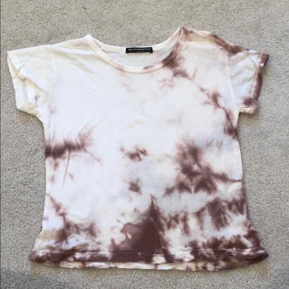 Brandy Melville Tops - Brandy Melville tie dye T-shirt